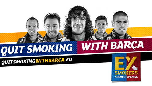 """Ex-Smokers are Unstoppable"" Campaign"