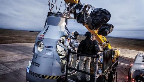 Final preparations underway for Red Bull Stratos
