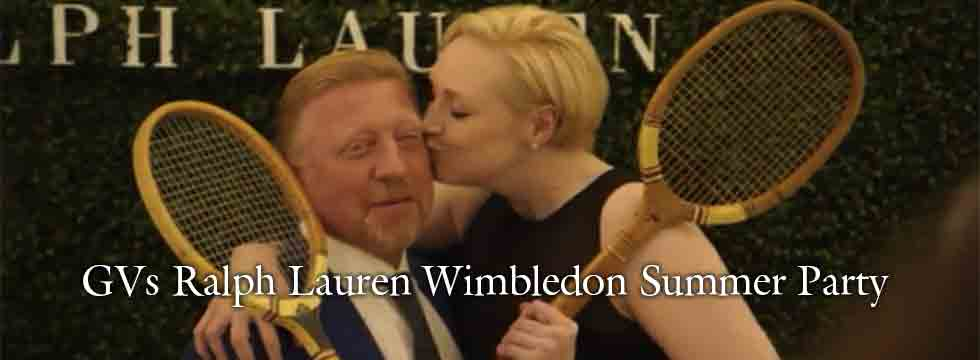 GVs Photocall Ralph Lauren Wimbledon Summer Party