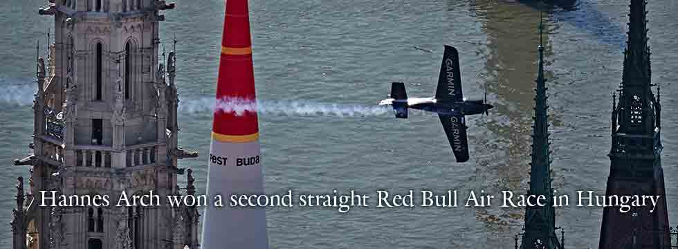 Hannes Arch wins Red Bull Air Race